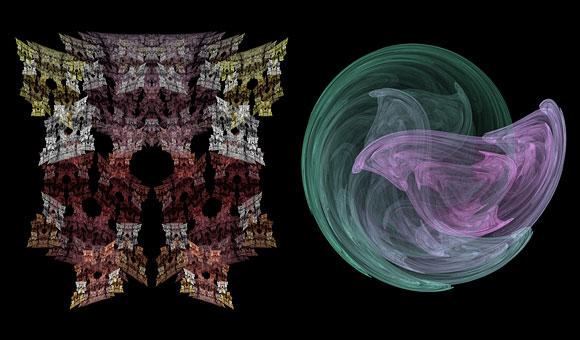 HTML5 fractal flames