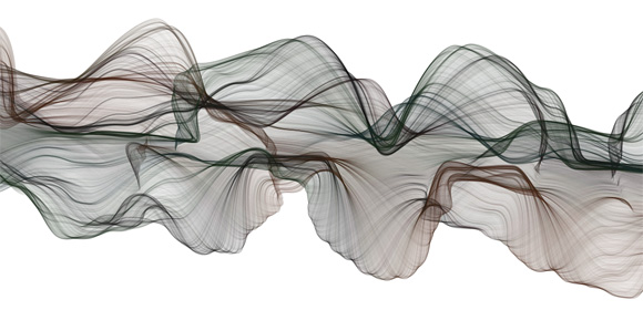 Drawing Lines With Javascript : More generative art in html canvas sweeping fractal