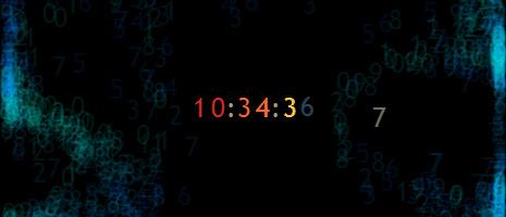 particle clock screencap