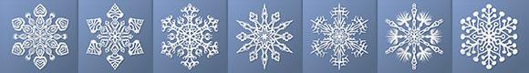 paper snowflake thumbnails